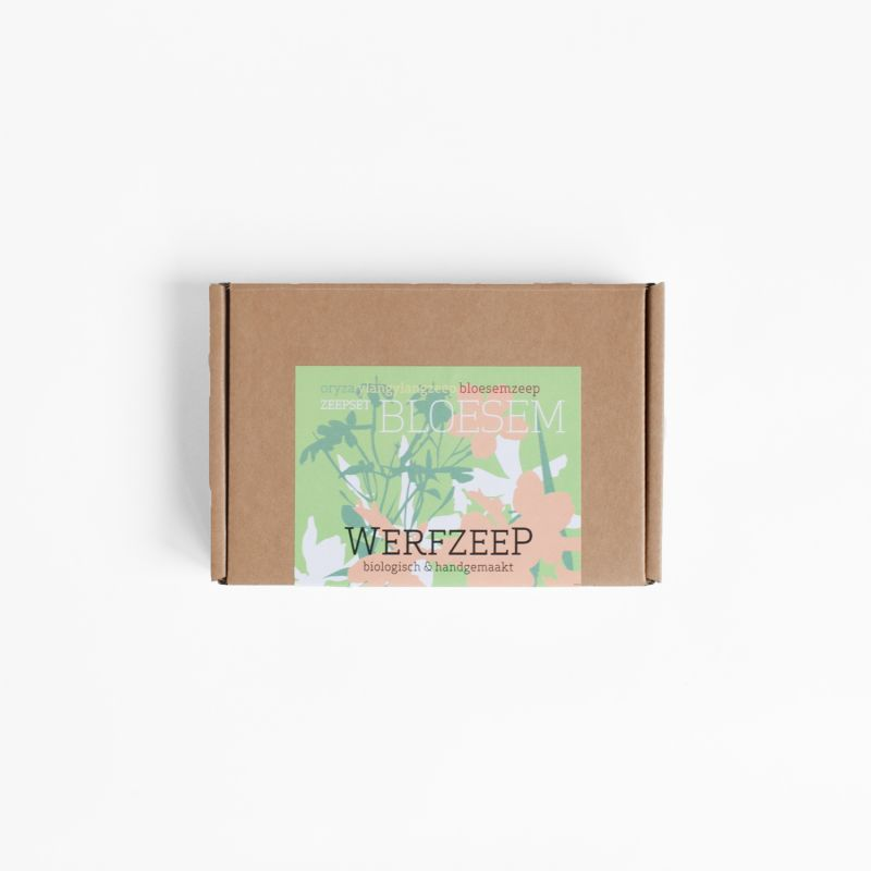 werfzeep - zeepset-bloesem