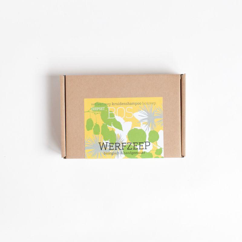 werfzeep - zeepset-bos