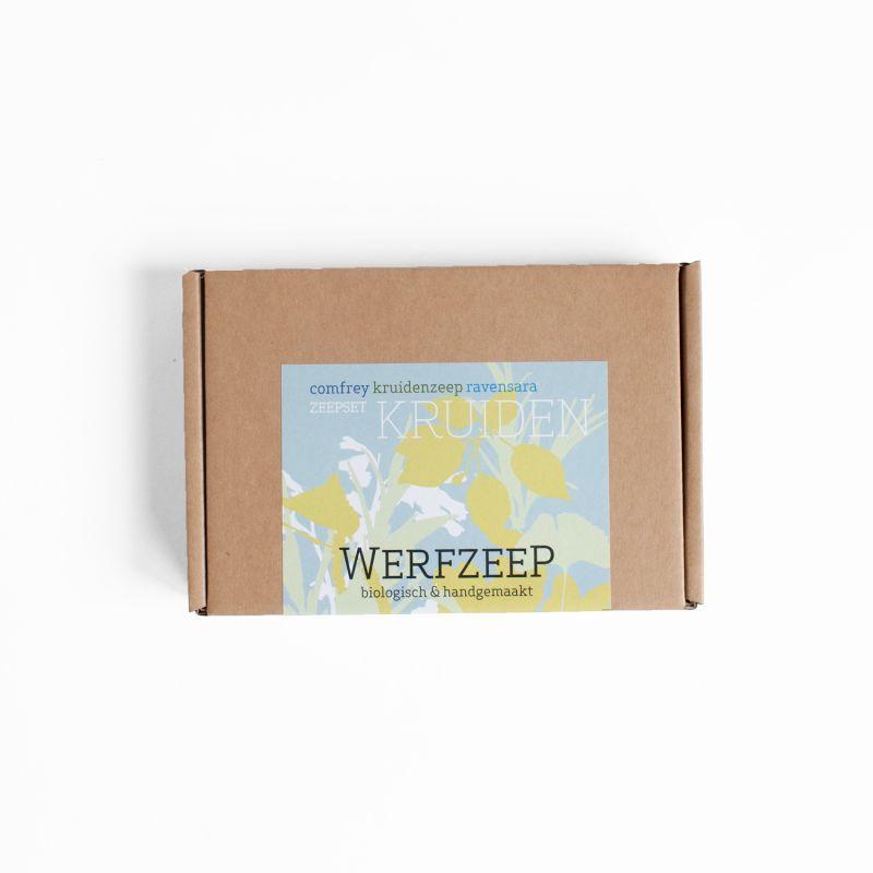 werfzeep - zeepset-kruiden