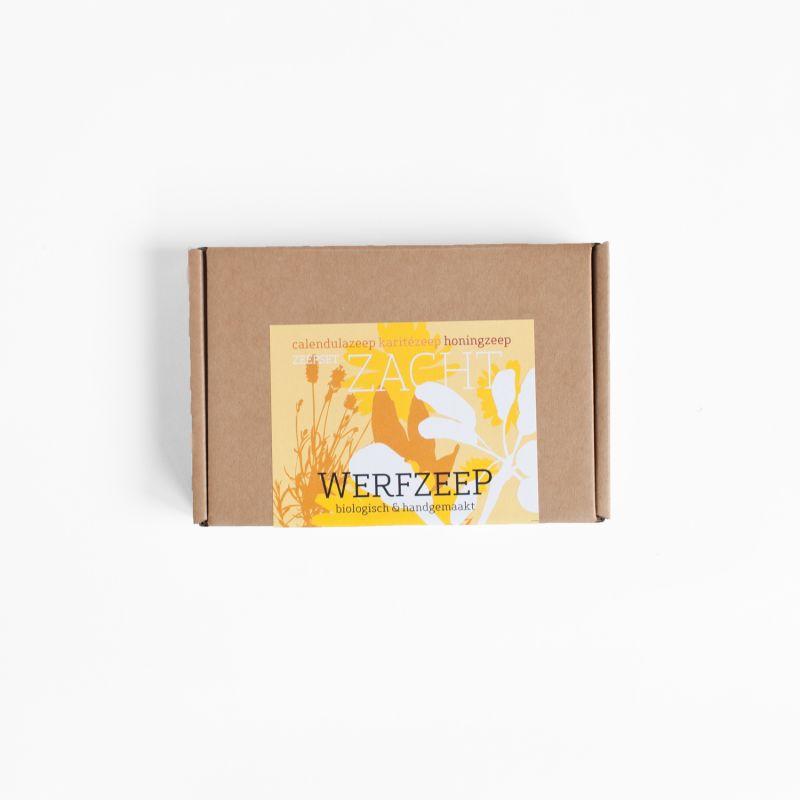 werfzeep - zeepset-zacht