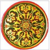 башкирский узор круговой