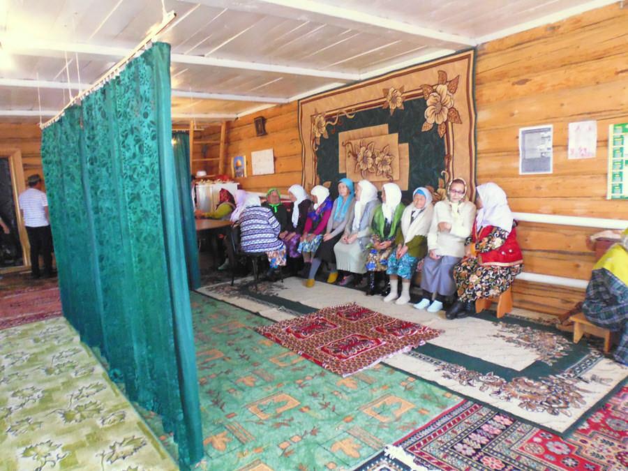 мусульманки Таштимерово