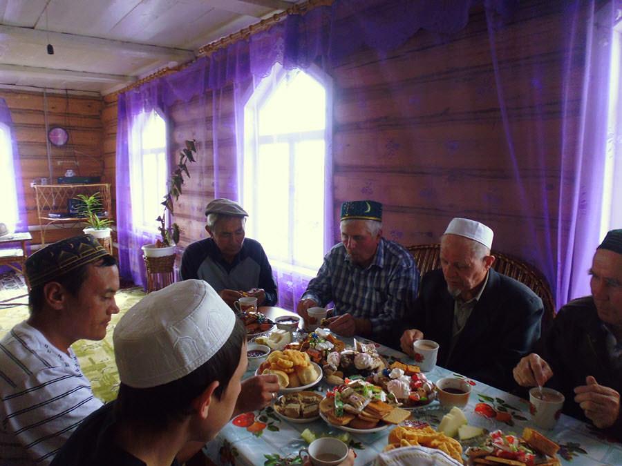 мусульмане деревни Михайловка Абзелиловского района