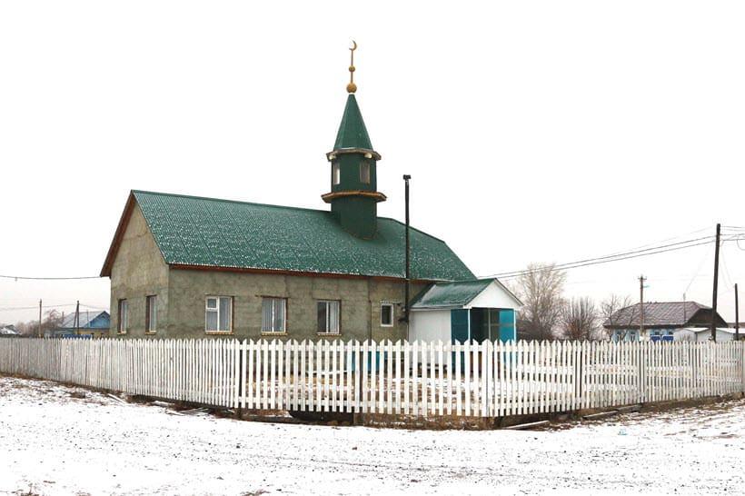 новая мечеть деревни Абзелилово