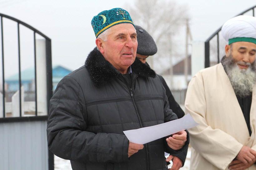 Шагалеев Мажит Султанович председатель КФХ Орлов