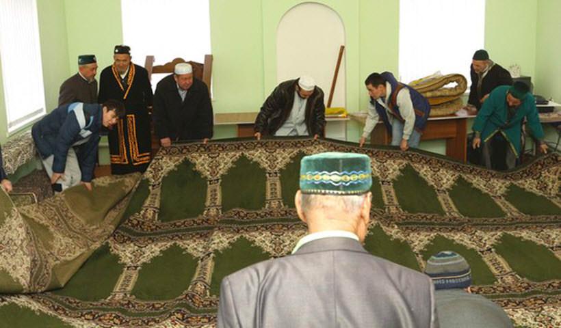 подарочный ковер для мечети