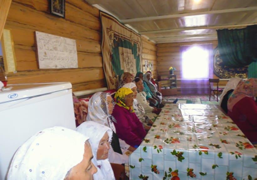 мусульманки Таштимеровской мечети