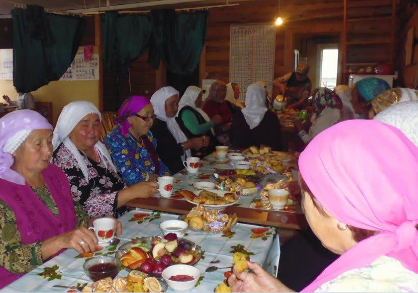Таштимер ауылы мосолман ҡатындары