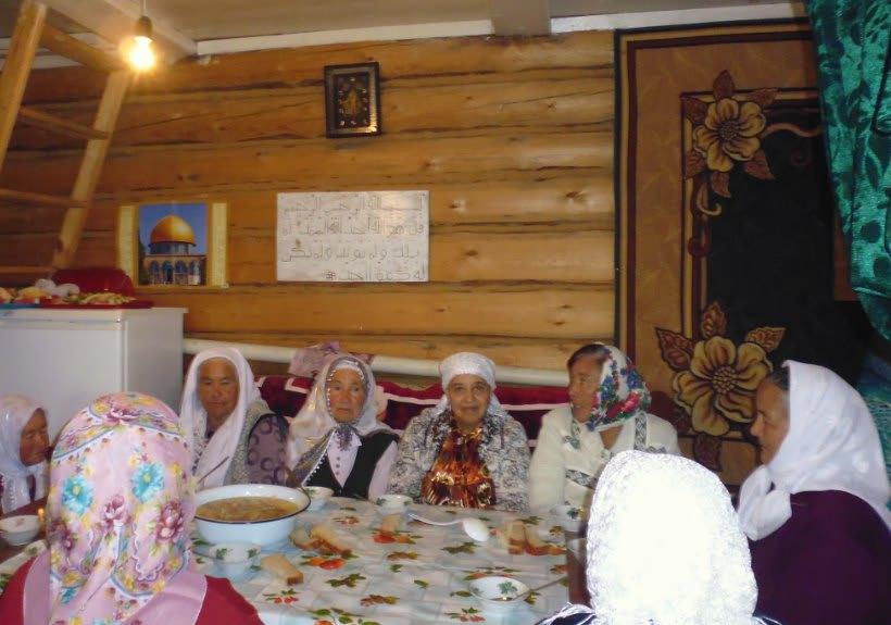 деревня Таштимерово мечет