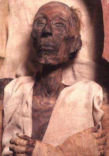 тело фараона
