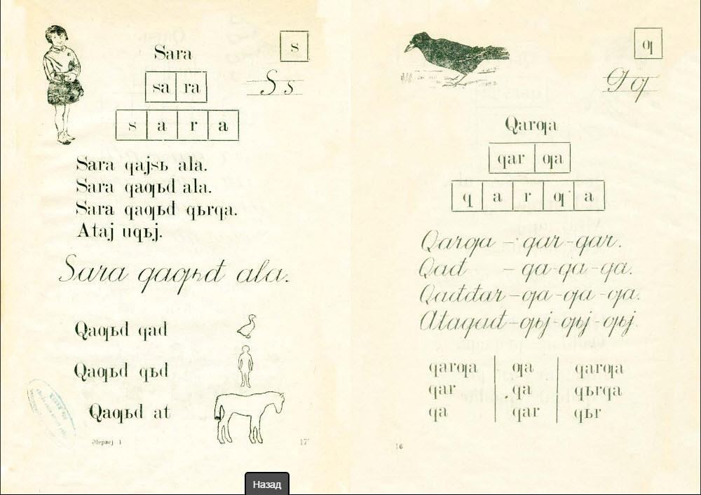 Башкирская латинская грамматика