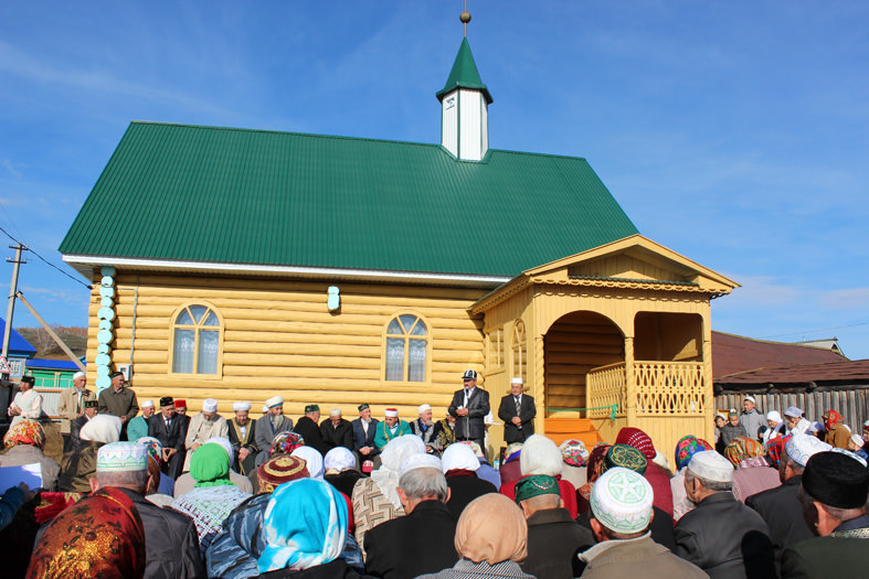 мечеть деревни Ишкильдено