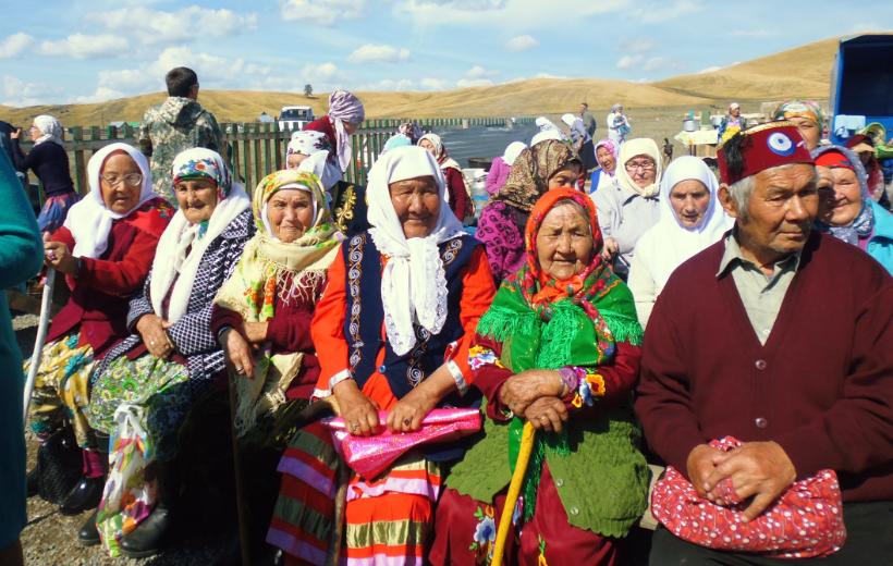жители сторожили деревни Тал Кускарово