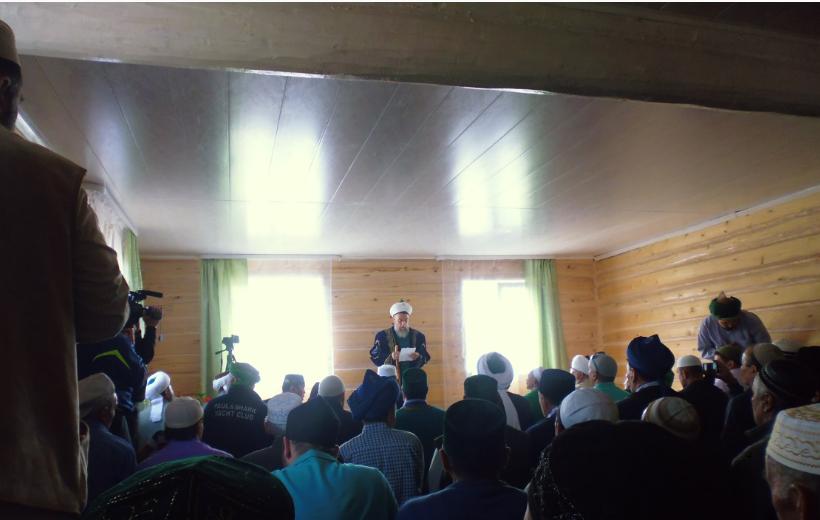 вагазь Мехмет хазратав мечети Тал Кускарово