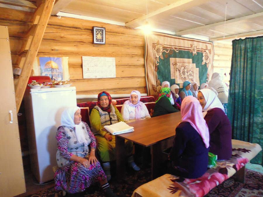 мусульманки деревни Таштимерово