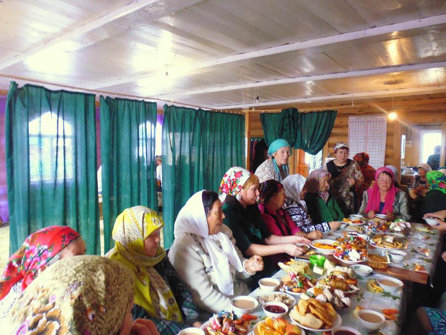 женщины мусульманки Таштимеровского сельсовета