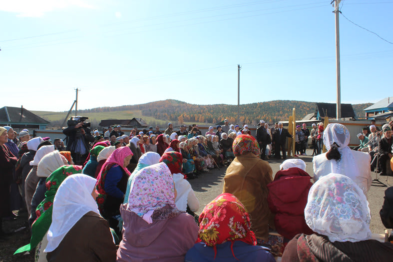 жители деревни Ишкильдено