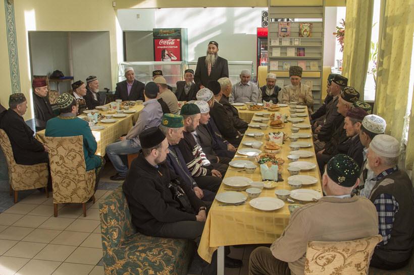 праздничный обед мусульман