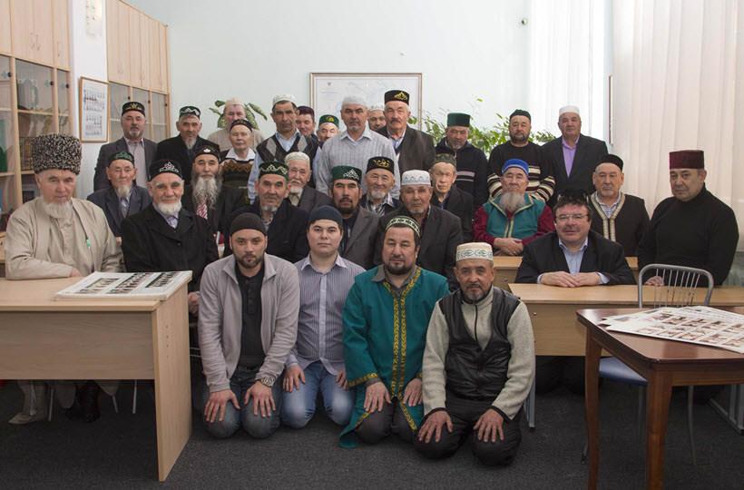 груповая фотография мусульман