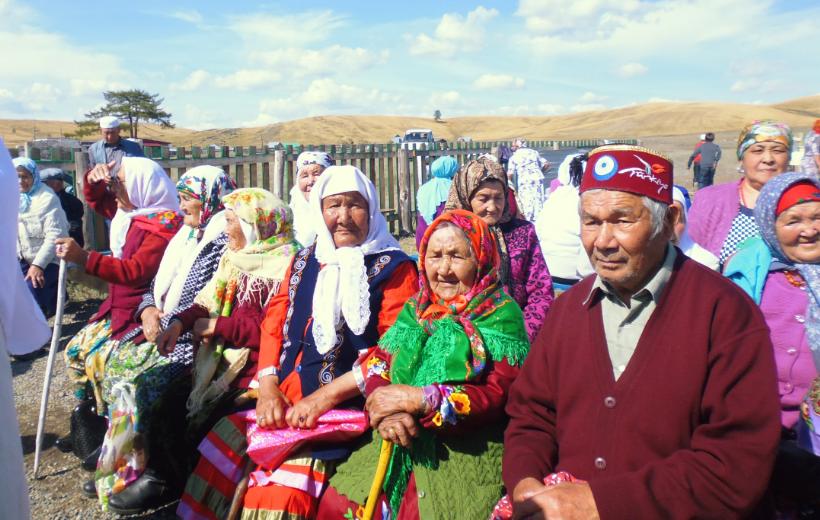 жители деревни