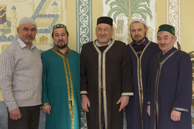 мусульмане во время торжества