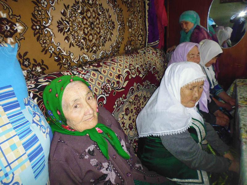 мусульманки деревни Аумышево