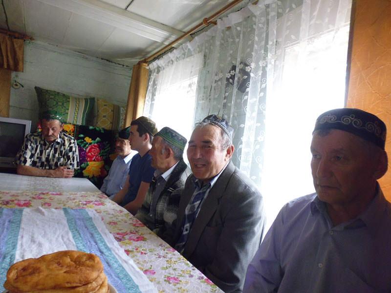мусульмане деревни Аумышево