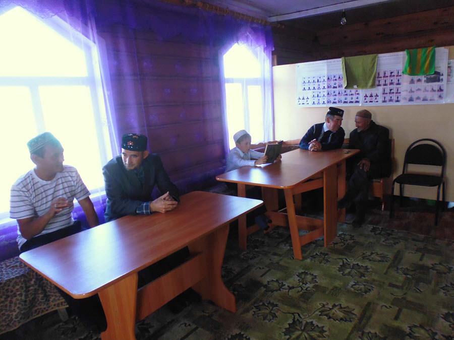 мечеть прихожани Таштимерово