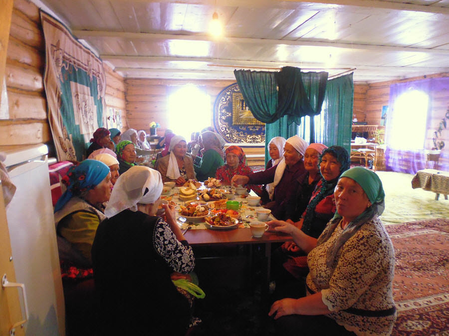 Праздник в мечети Абзелиловского района