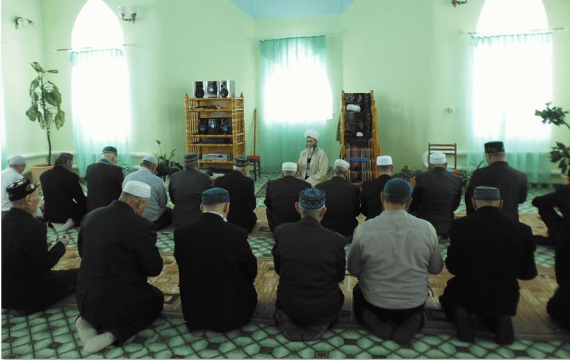 намаз в районной мечети