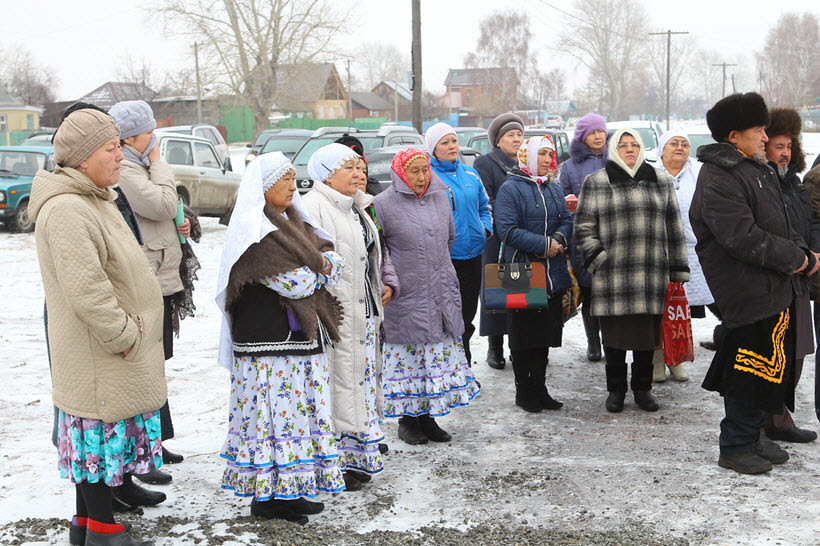 мусульманки Абзелиловского района деревни Абзелил