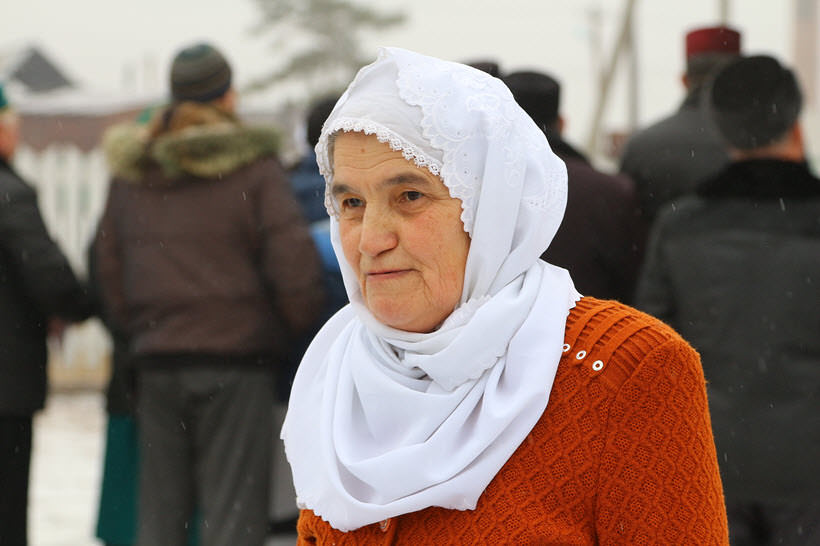 мусульманка деревни Абзелилово