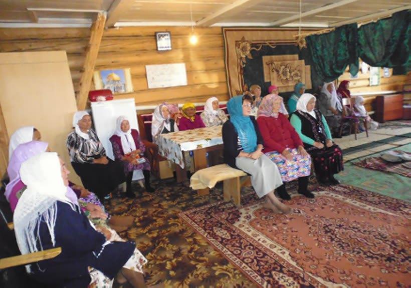 Мечет деревни Таштимерово
