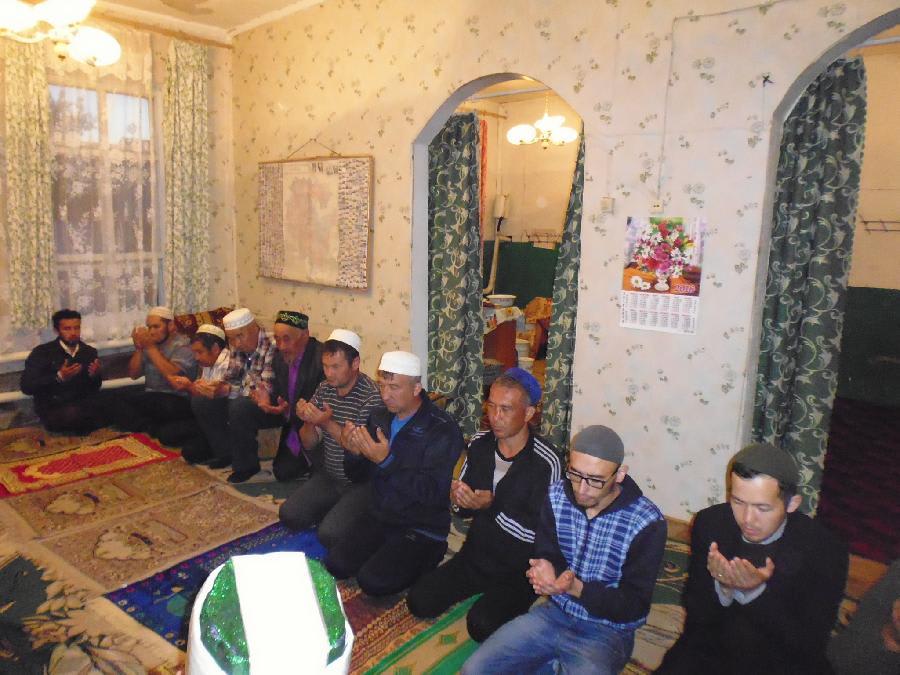 мусульмане деревни Тупаково