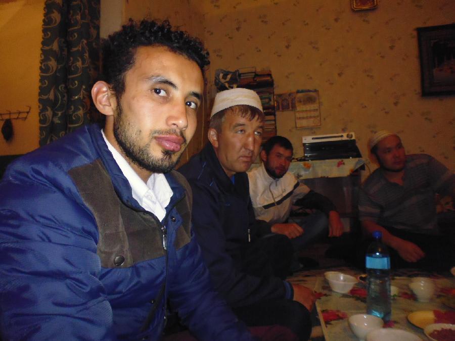 ифтар в мечете Тупаково