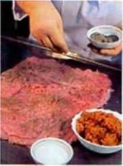 мясо и урюк