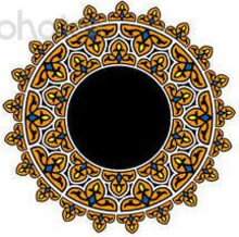 орнамент круглой формы