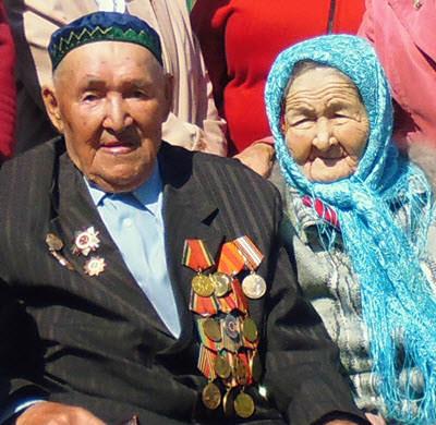 ветеран войны Иргалин Муждаба Габдулхакович
