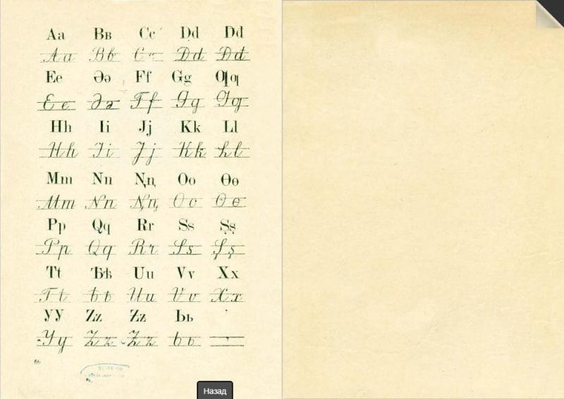 алфавит Латиница