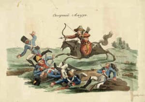 Башкиры, война 1812 год