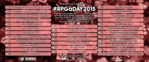RPG a day 2015 - #RPGaDay2015