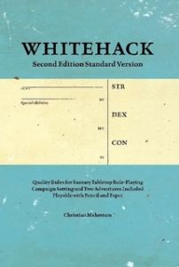 Whitehack 2nd edition Standard Version
