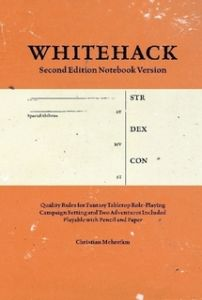 Whitehack 2nd edition Notebook