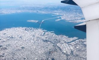 flying out of SFO