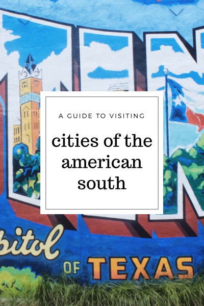 cities of the american south