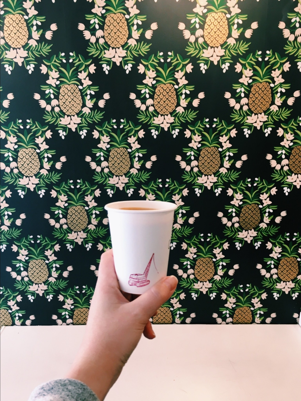 where to work remotely in SF - Wrecking Ball Coffee on Union Street