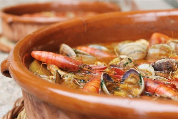 seafood in Costa Brava