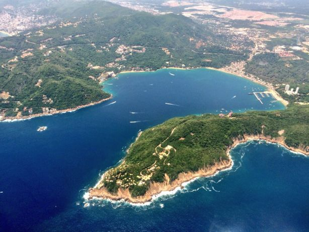 Acapulco from the air