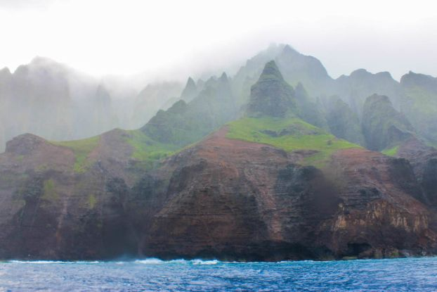 Boat tour Napali Coast Kauai