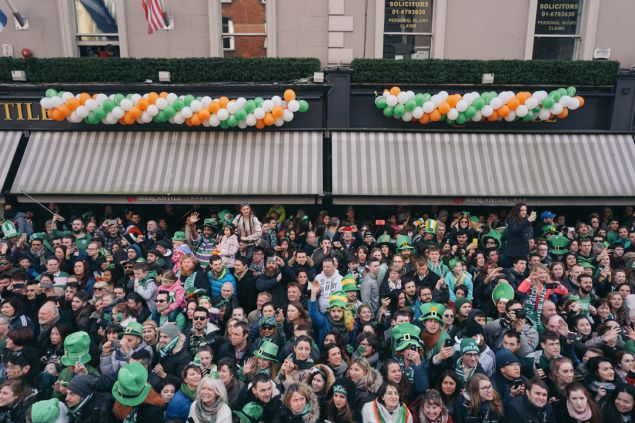 Where to watch the St Patrick's Day parade Dublin